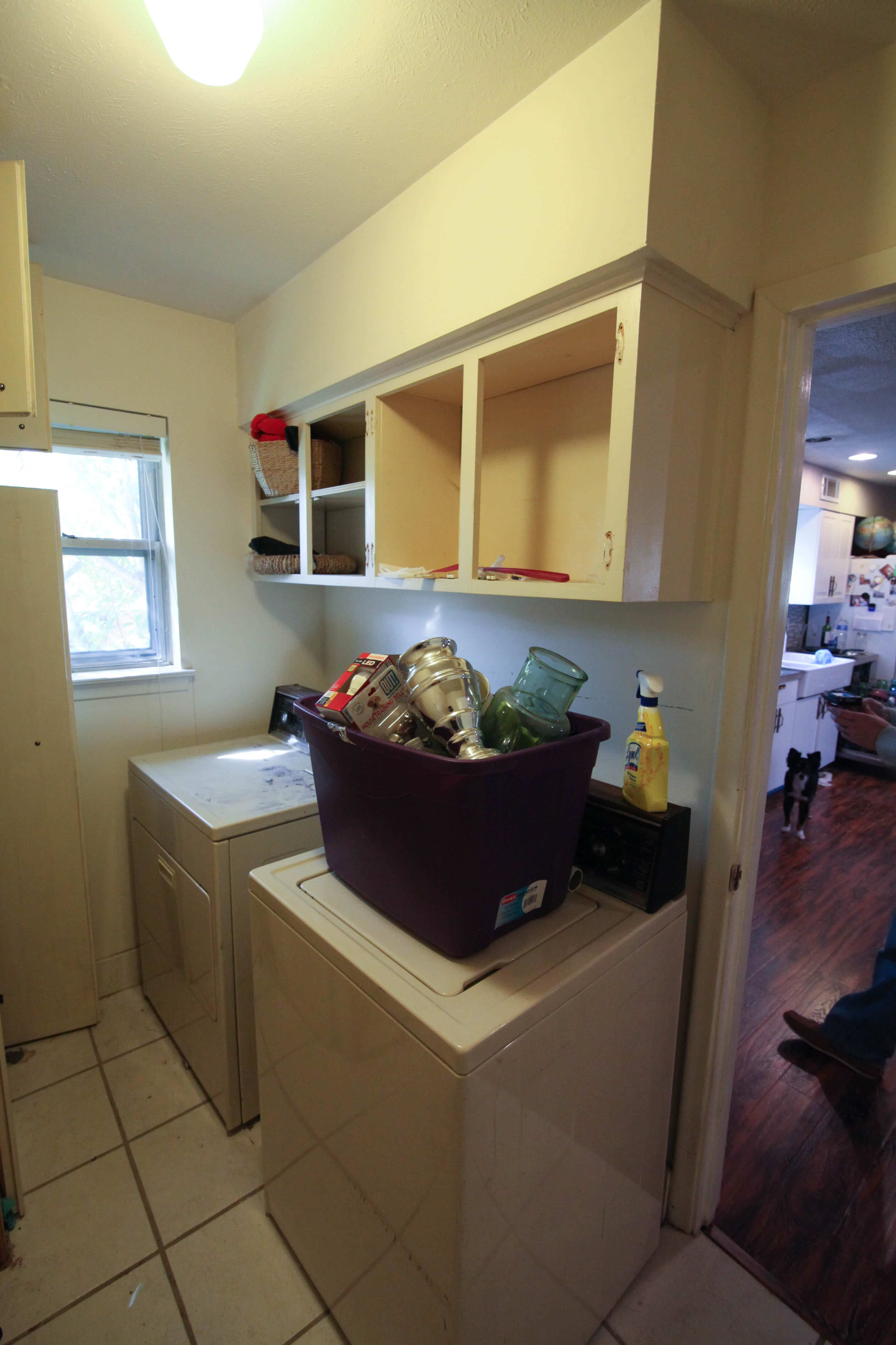 The Laundry Room—Before