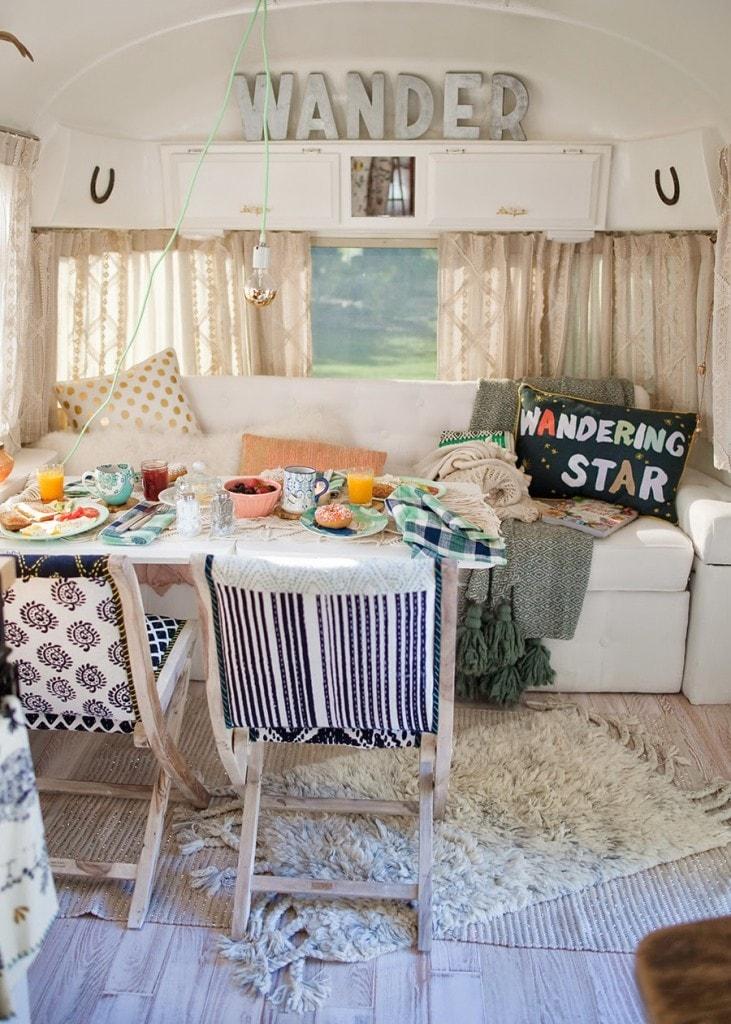 vintage camper remodel envy run to radiance. Black Bedroom Furniture Sets. Home Design Ideas