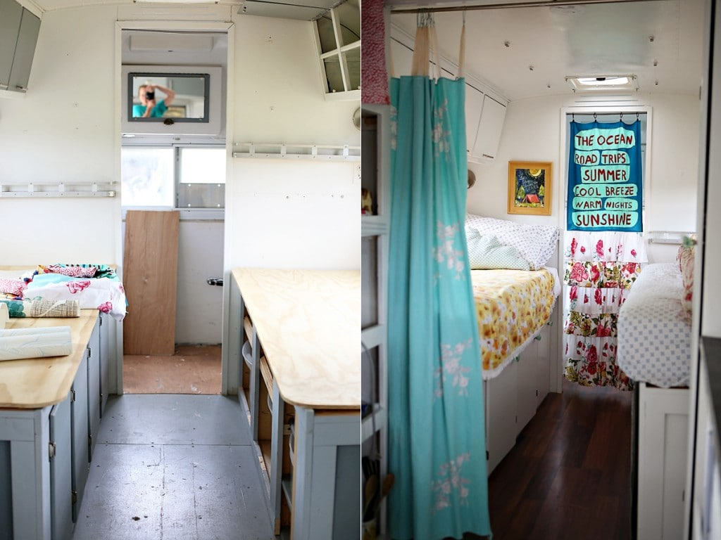 Vintage Camper Remodel Envy Run To Radiance