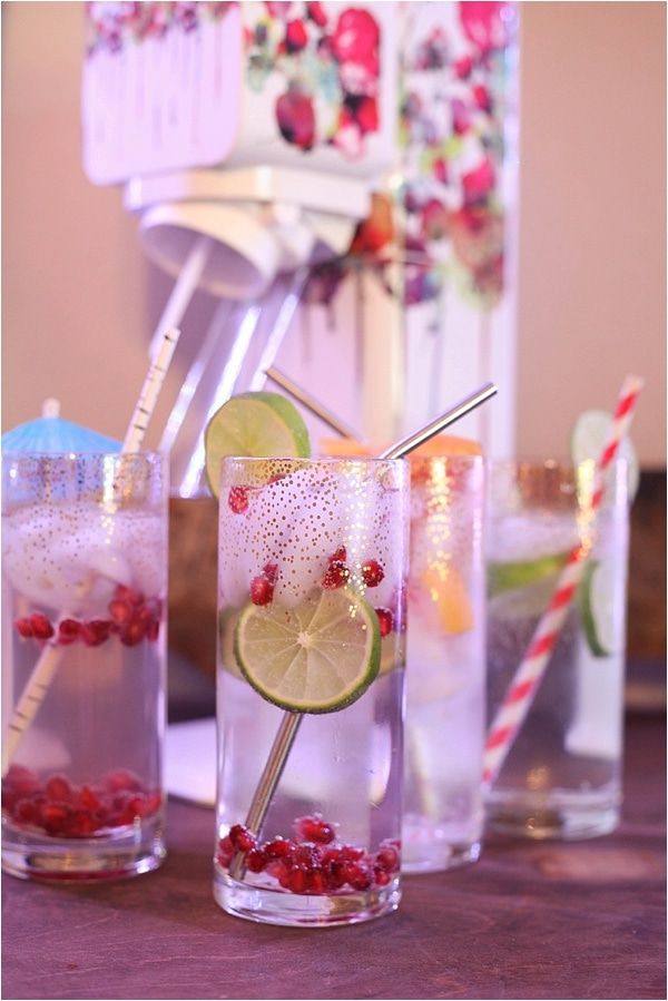 DIY Gin & Tonic Bar with SodaStream - Run To Radiance