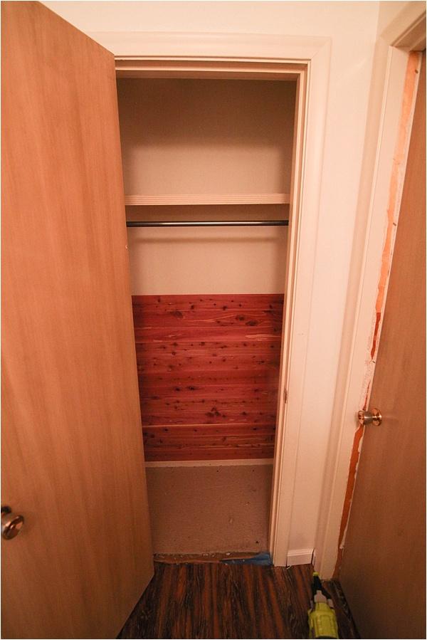 Cedar Closets 3 Nails 4 U Construction: Cedar Closet Makeover