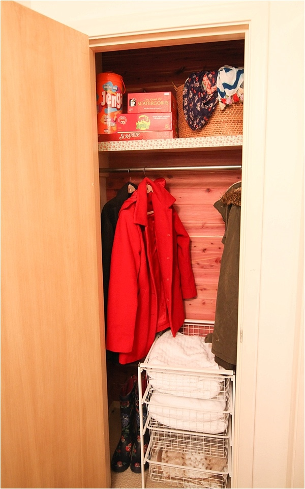 how to instal cedar planks in closet_0017
