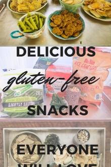 The Best Gluten Free Snacks