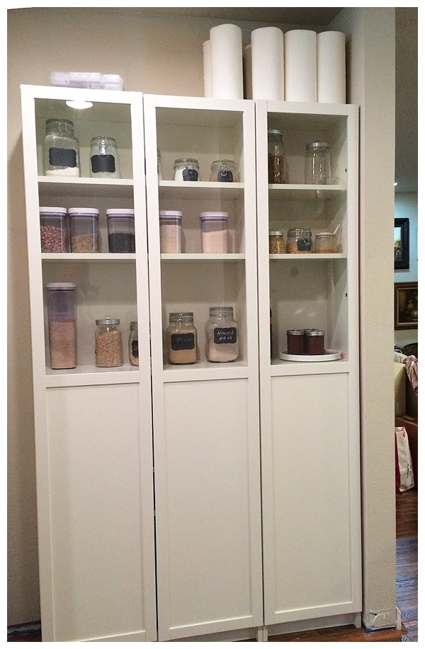 ikea-billy-bookcase-as-pantry_from www.runtoradiance.com