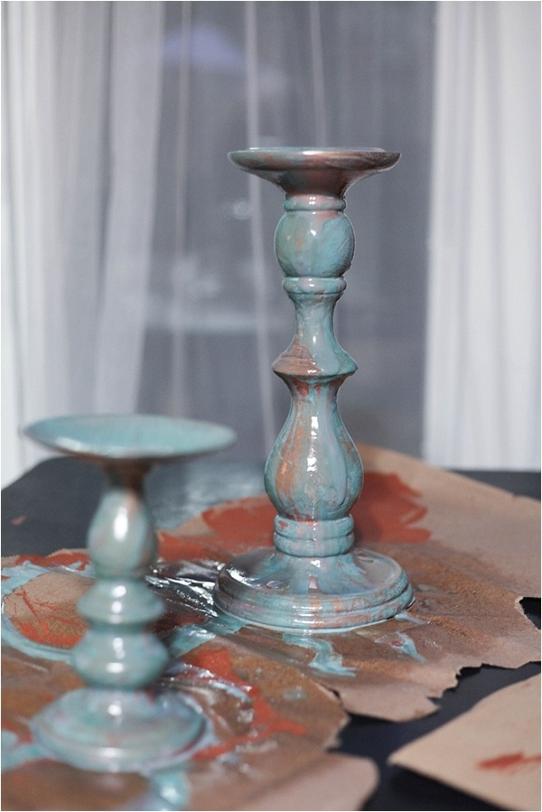 create distressed finish with modern masters metallic effects paint! check it out at www.runtoradiance.com_0020