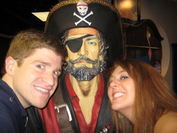 pirate pic scott and tania