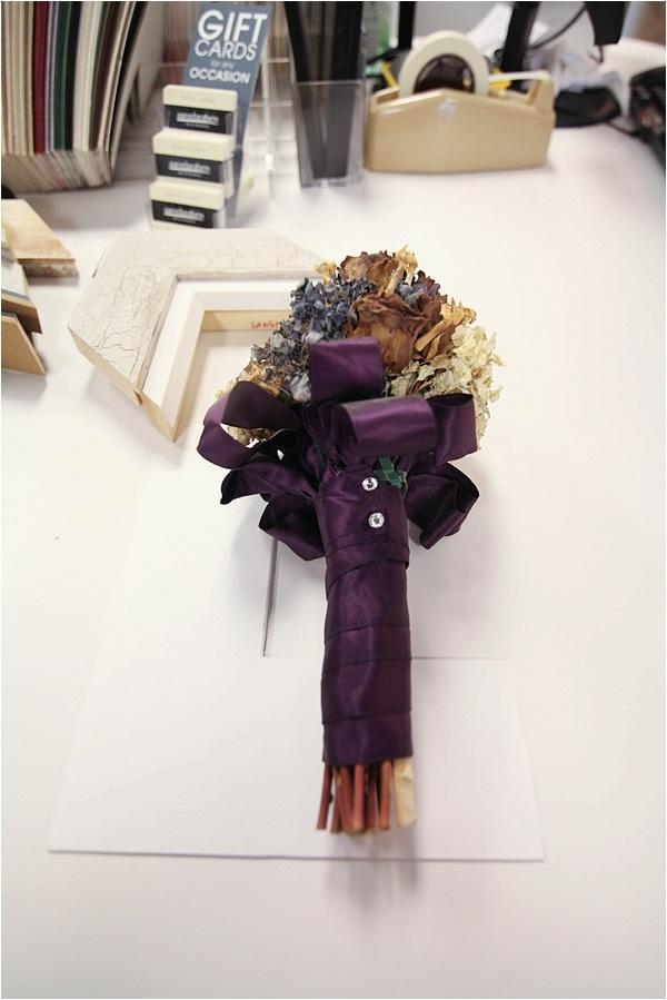 custom framed wedding bouquet_0004