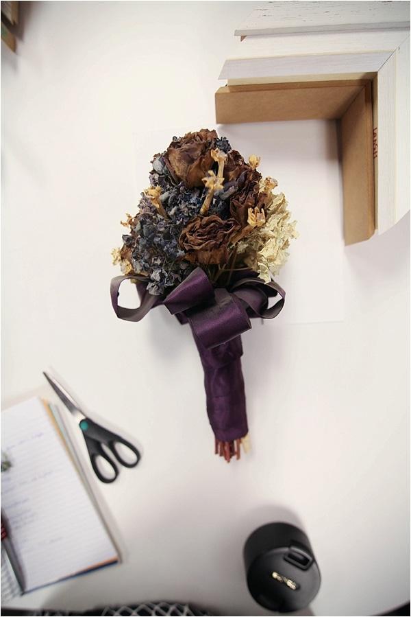 custom framed wedding bouquet_0011