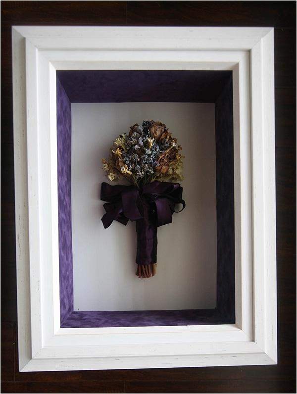 My Custom Framed Wedding Bouquet Giveaway