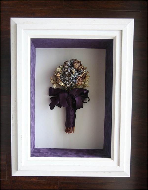 custom framed wedding bouquet_0016