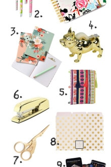 Cute School Supplies for Adults