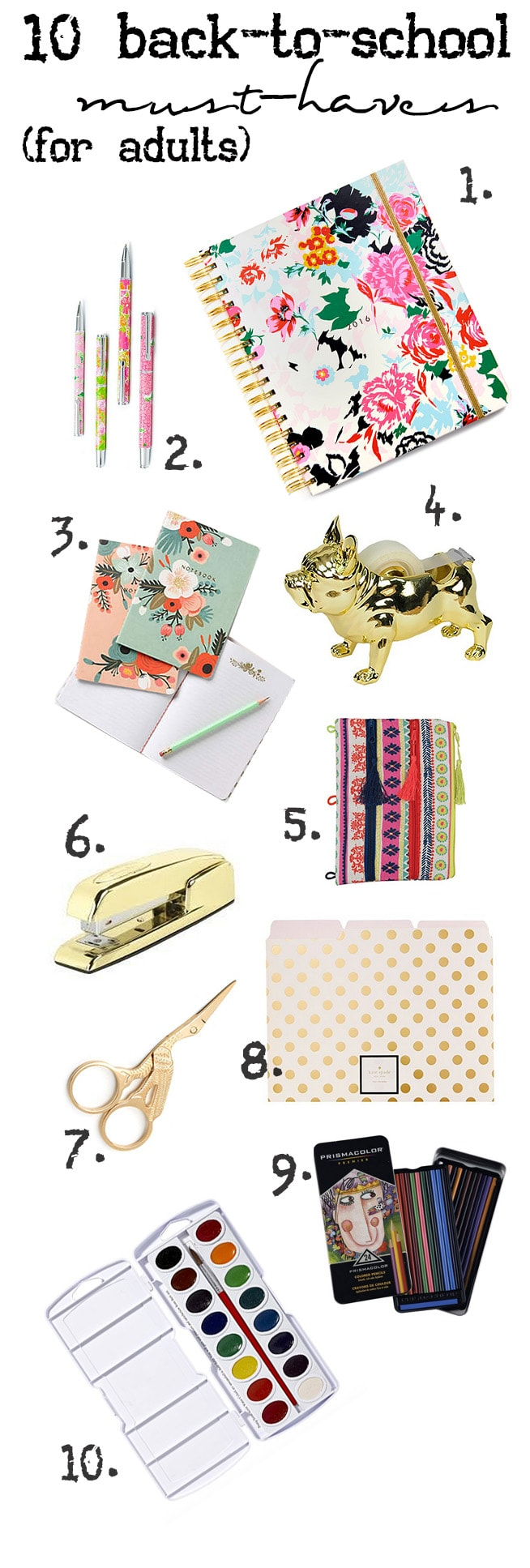 Cute School Supplies For Adults Run To Radiance