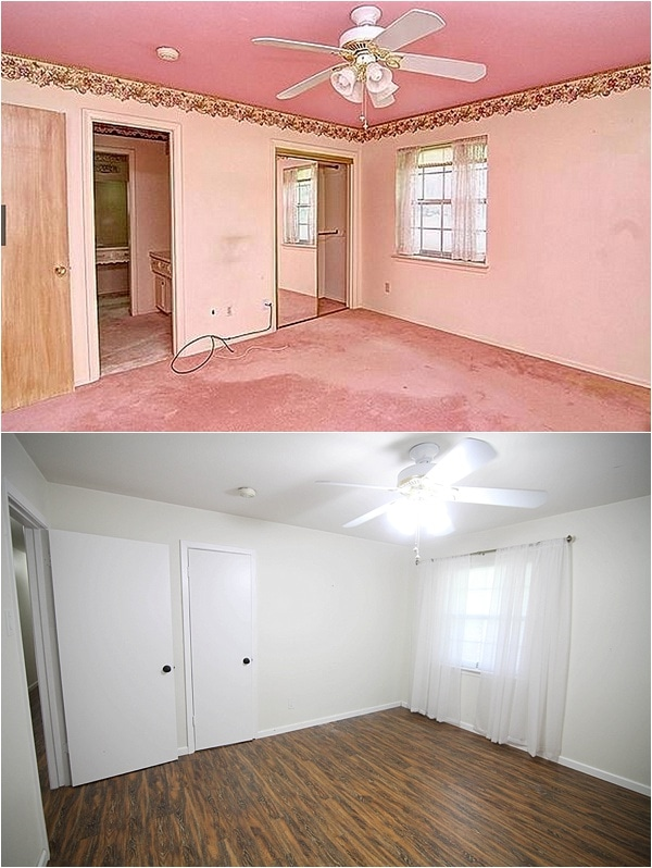 Before and After pictures- Insane final pictures of a flip house