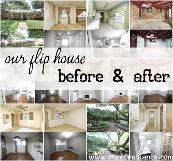 Before and after pictures insane final pictures of a flip for House flips before and after