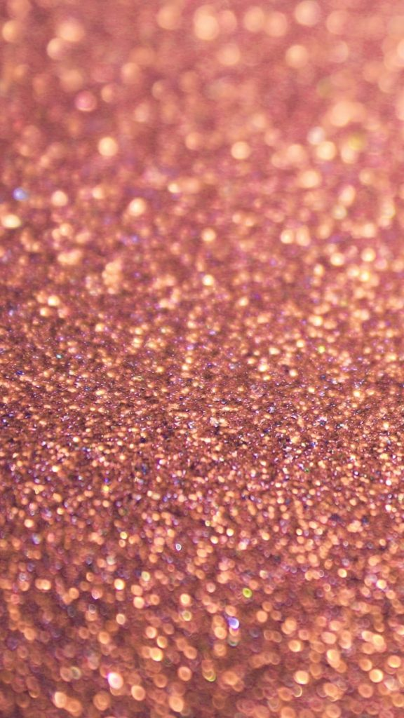 Girly wallpapers with rose gold glitter