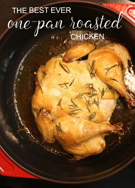 This is the best chicken recipe I have ever tried. Love that it's one pan!