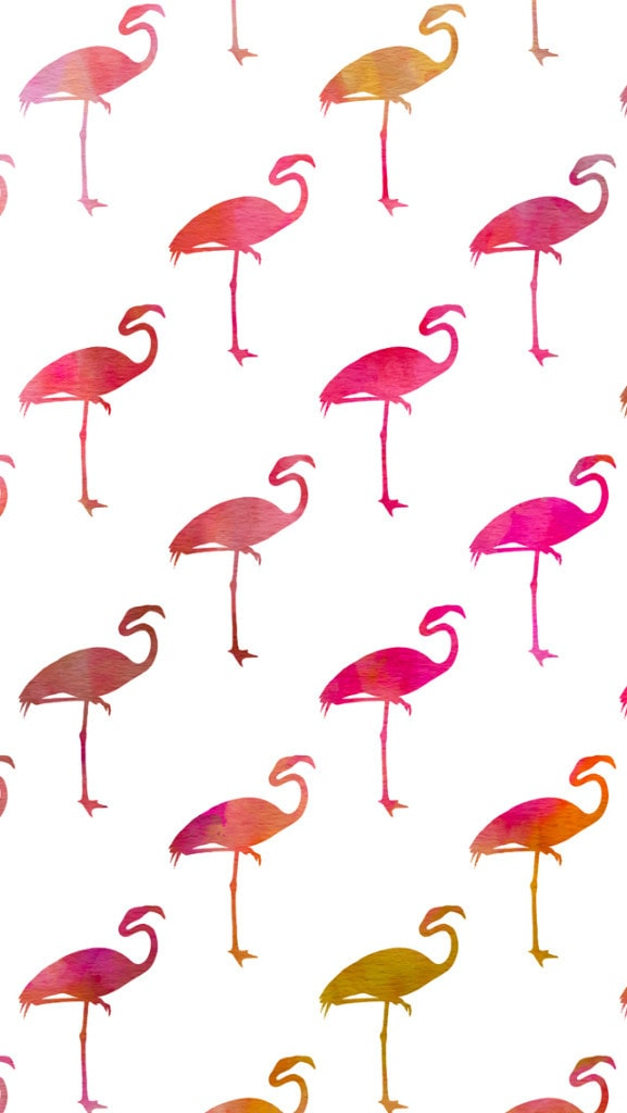 Free cute iphone wallpapers 10 cute phone backgrounds you can cute iphone wallpaper with ombre pink and orange flamingos voltagebd Gallery