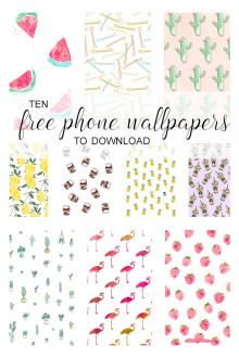 10 Free Phone Wallpaper Downloads