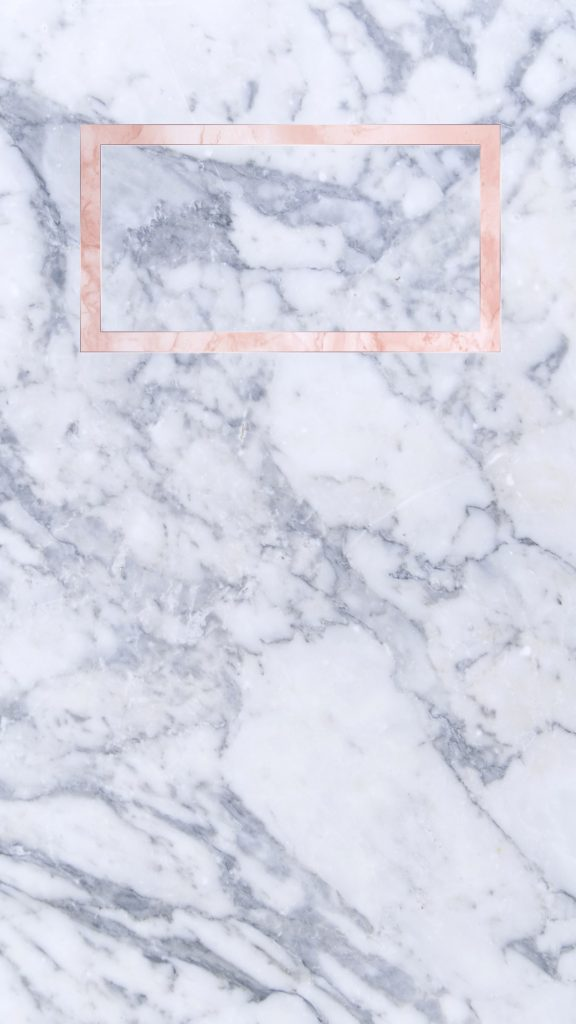 Cute backgrounds - this one has a marble background with a rose gold accent