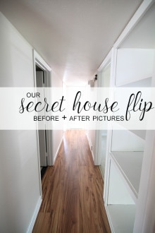 Our Secret House Flip—Before & After Pics