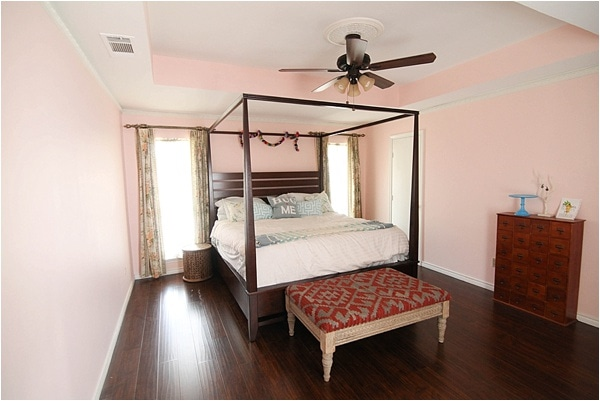 Our Pink Master Bedroom - Run To Radiance
