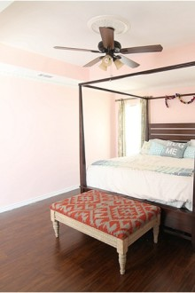 Our Pink Master Bedroom