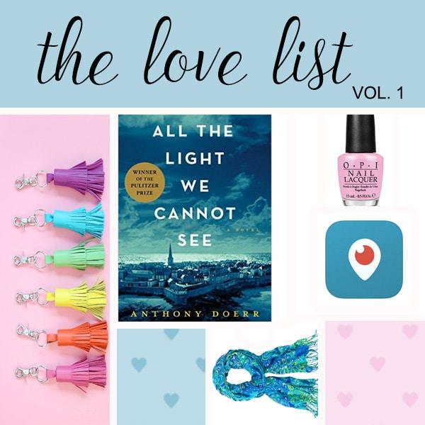the love list vol 1