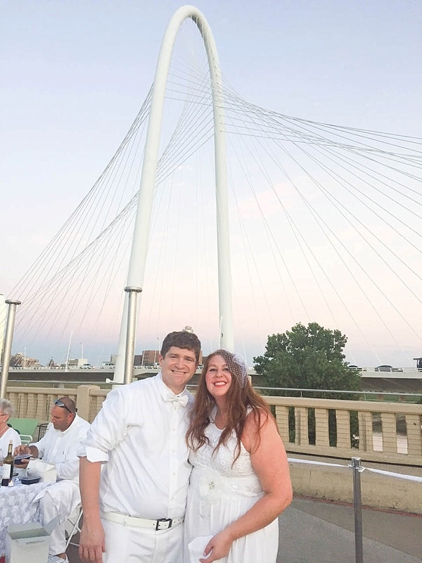 Diner en Blanc Dallas was a huge success! Check out these gorgeous photos. What a beautiful event._0008