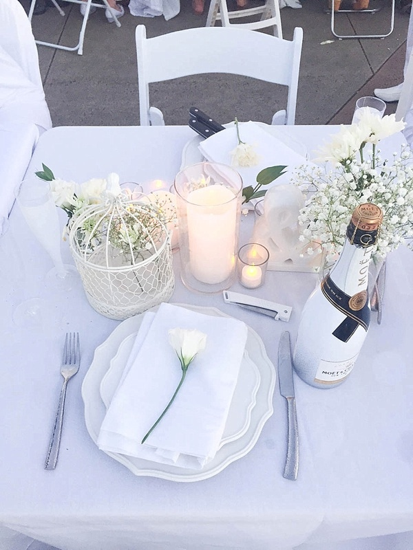 Diner en Blanc Dallas was a huge success! Check out these gorgeous photos. What a beautiful event._0009