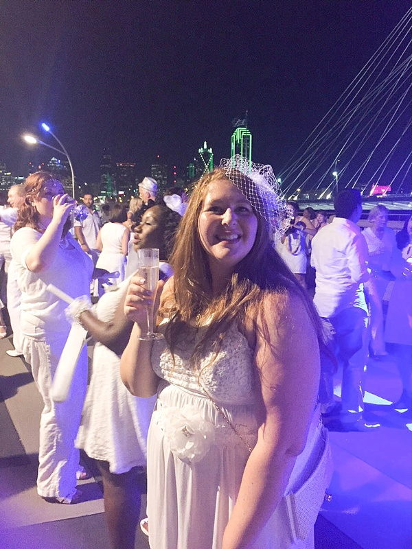 Diner en Blanc Dallas was a huge success! Check out these gorgeous photos. What a beautiful event._0019