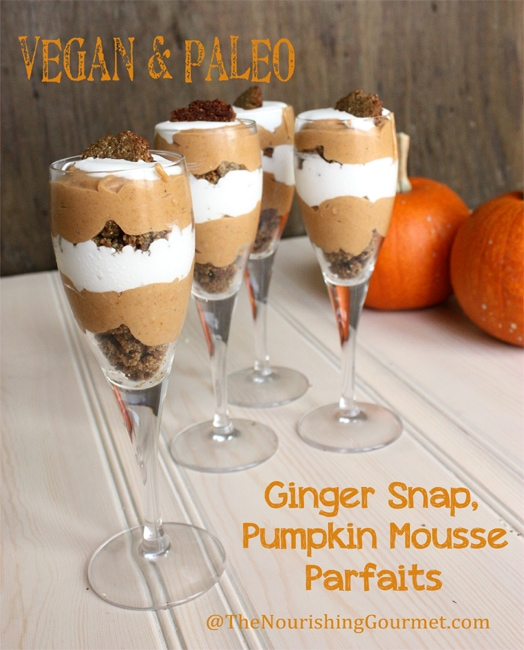 Vegan-and-Paleo-Ginger-Snap-and-Pumpkin-Mousse-Parfaits-on-thenourishinggourmet.com_
