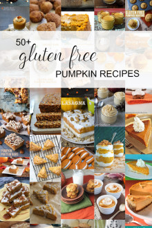 50+ Gluten Free Pumpkin Recipes