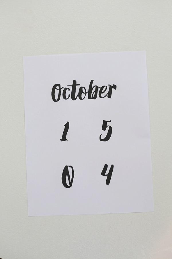diy vintage calendar_0006