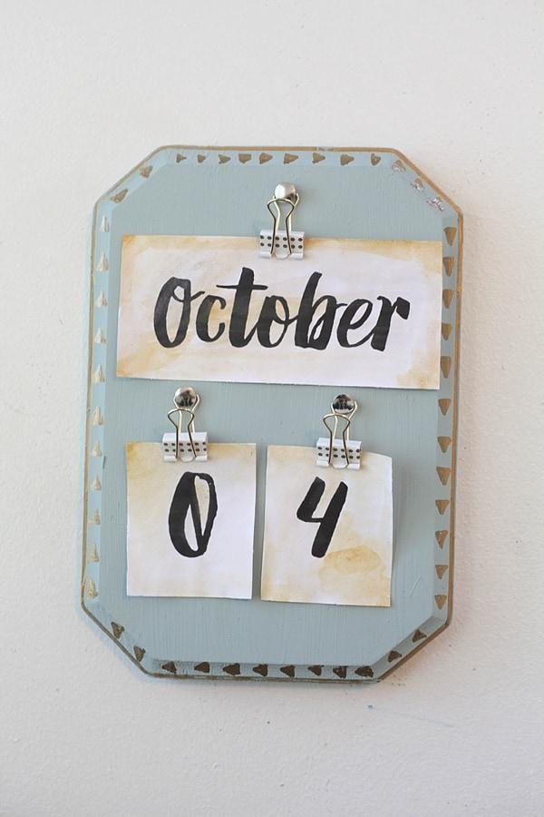 diy vintage calendar_0019
