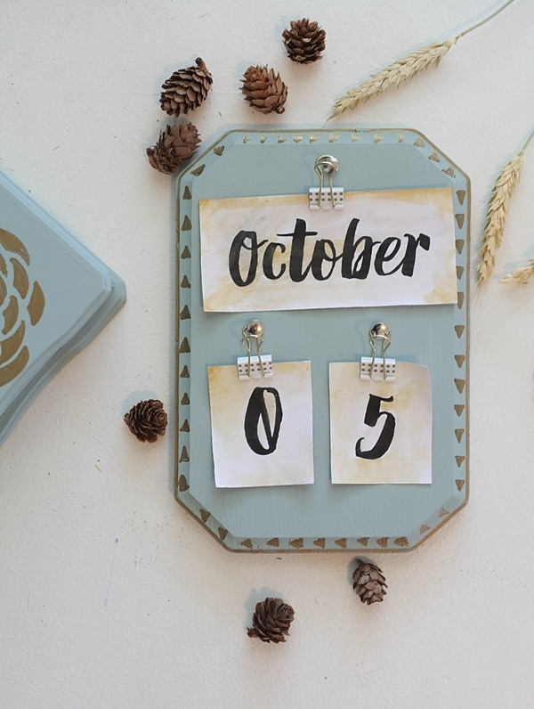 diy vintage calendar_0024