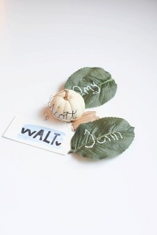 Easy DIY Place Cards