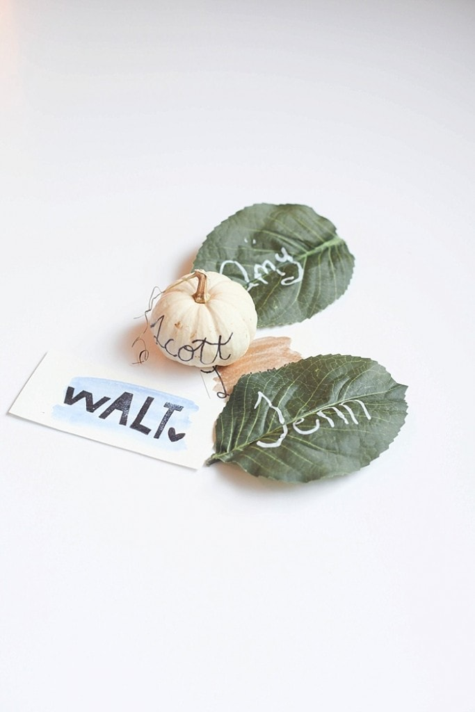 These easy DIY place cards take minutes to make, will elevate your table and make your guests feel welcome!_0001