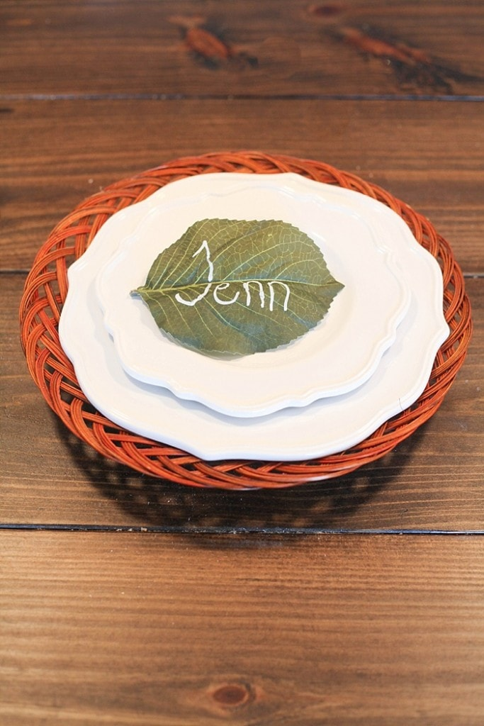 These easy DIY place cards take minutes to make, will elevate your table and make your guests feel welcome!_0015