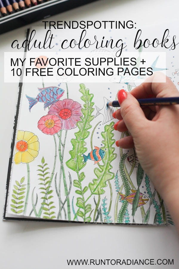 free adult coloring pages plus my favorite tools