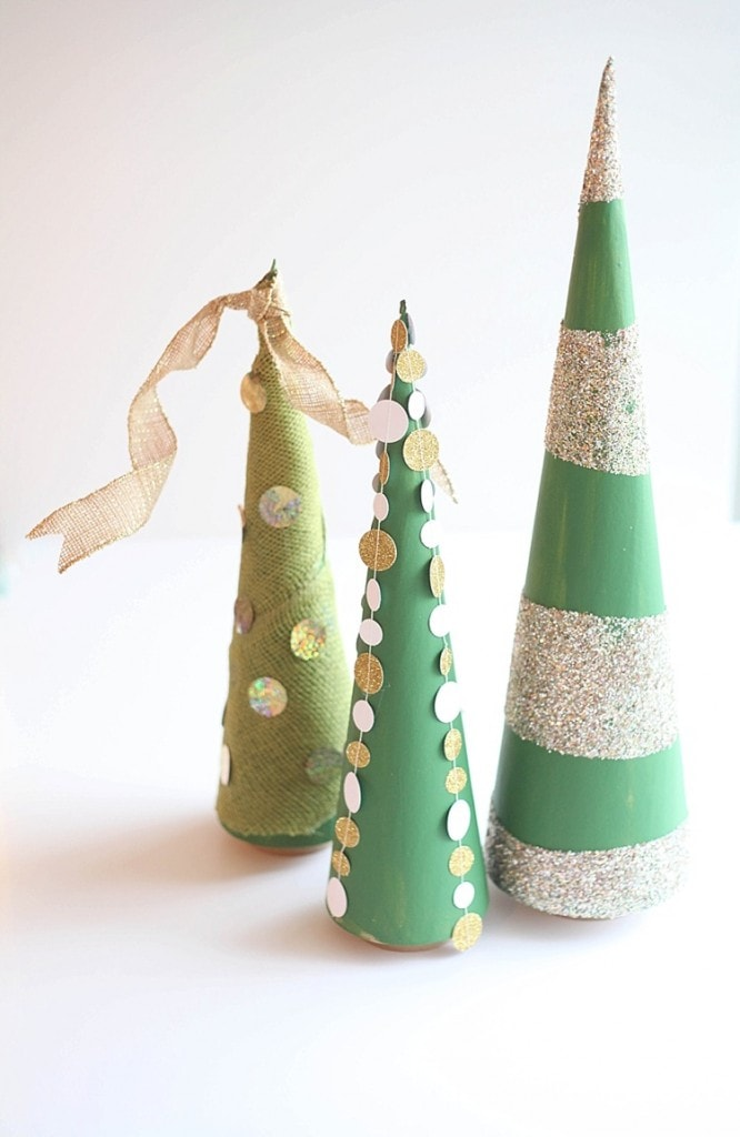 Diy Cone Christmas Trees.3 Easy Ways To Decorate A Cone Tree For Christmas Run To Radiance
