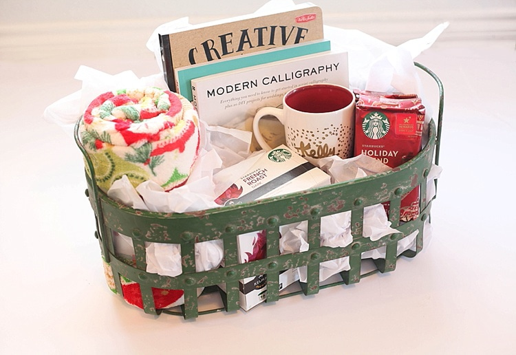 This-DIY-hand-painted-mug-and-gift-basket-is-the-perfect-easy-custom-gift-to-give-for-the-holidays-Who-doesnt-love-coffee_0017