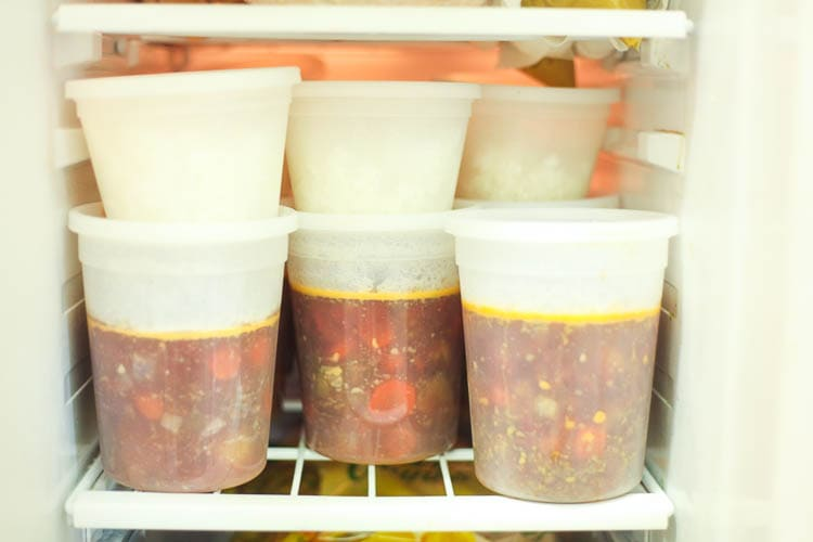 Freezer meals are the perfect way to cut down on your budget and your waistline! They are so much easier to make than you'd think. Definitely pinning this one! :)
