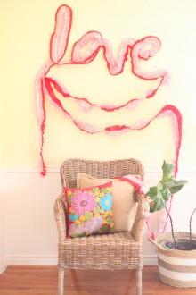 Valentine's Day Crepe Paper DIY