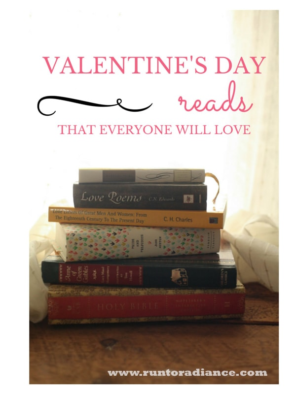 Great list of romantic valentine's day reads- might need to pick a few of these up!