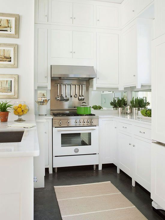 Yay For White Appliances! Love This Classic Trend.