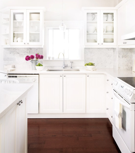 Loving The Look Of White Appliances In Kitchen So Glad They Are Back In
