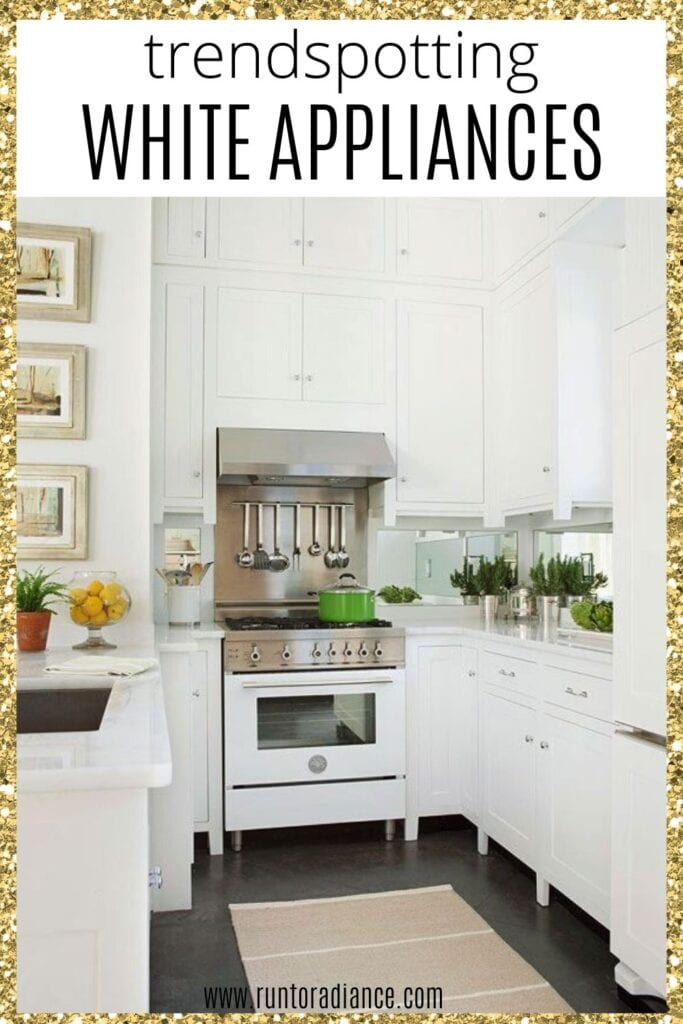 Trendspotting White Appliances And How To Style Them