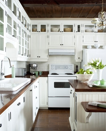 Appliance Cabinets Kitchens: Trendspotting: White Appliances