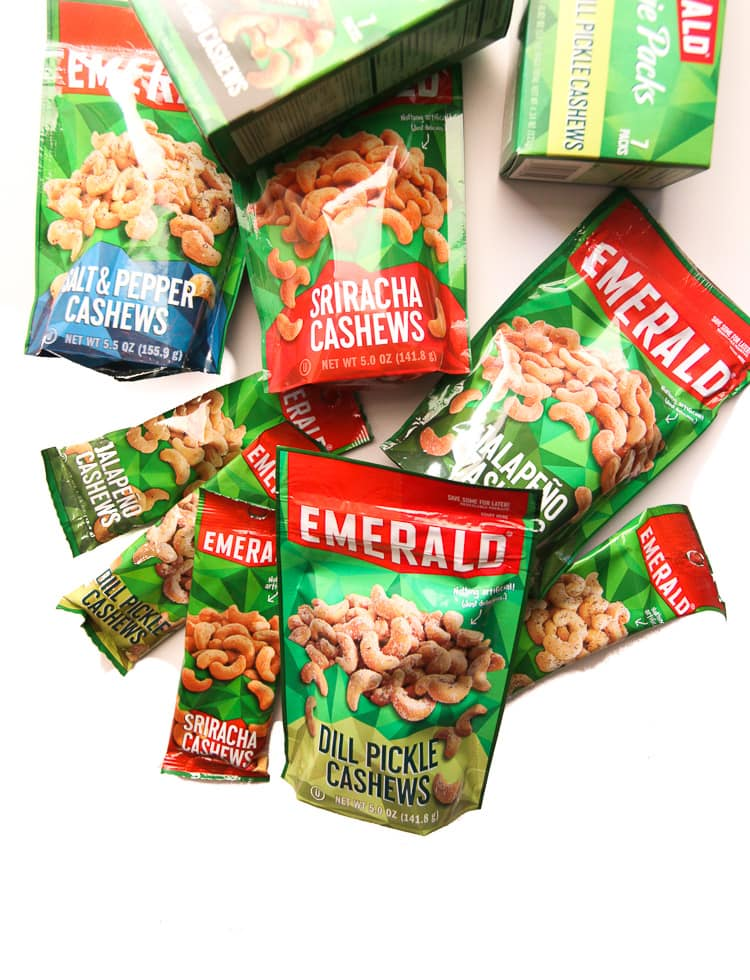 Emerald cashews new flavors, so good! Perfect snack for on the go!