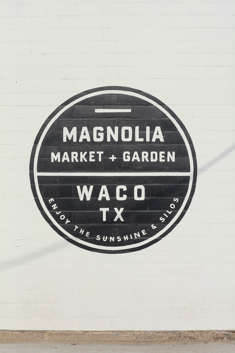 Fixer Upper farm at Magnolia market in Waco Texas